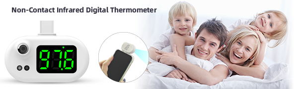 no contact thermometer forehead