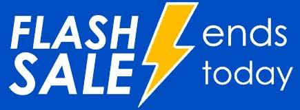 flash sale ends today